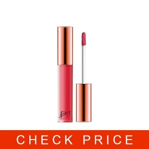 BBIA Last Velvet Lip Tint Flower Series, Silky Peach Pink (18 More Cheerful) 0.18 Ounce
