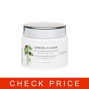 Farmacy Green Clean Makeup Meltaway Cleansing Balm with Echinacea Green Envy