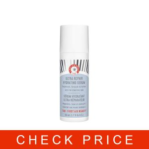 First Aid Beauty Ultra Repair Hydrating Serum with Hyaluronic Acid, Anti-Aging Face Serum for Sensitive Skin, 1.7 Ounces