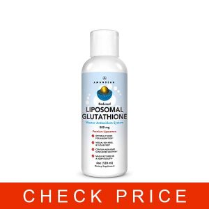 Liposomal Glutathione Supplement | Liquid Reduced Setria® L Glutathione 500mg