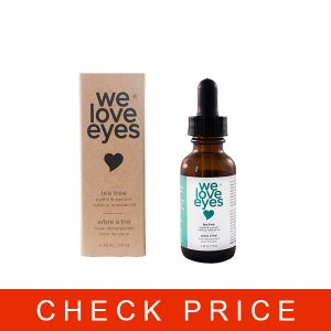 We Love Eyes- All Natural Tea Tree Eye Makeup Remover Oil