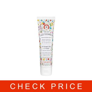 First Aid Beauty Pure Skin Face Cleanser, Sensitive Skin Cream Cleanser with Antioxidant Booster - 2 oz.