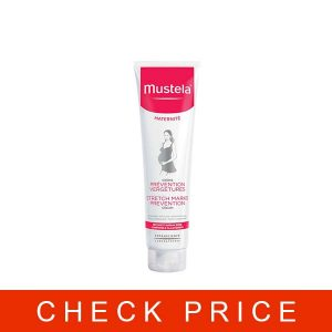 Mustela Stretch Marks Cream, for Pregnancy, with Natural Avocado Peptides, Lightly Fragranced, 5.07 Ounce