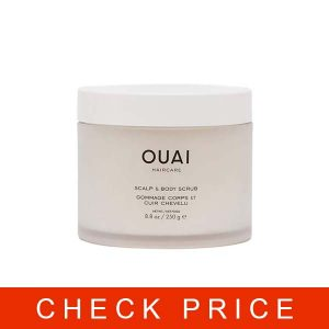 OUAI Scalp & Body Scrub. Deep-Cleansing Scrub for Hair and Skin that Removes Buildup, Exfoliates and Moisturizes. Made with Sugar and Coconut Oil. Free from Parabens, Sulfates and Phthalates
