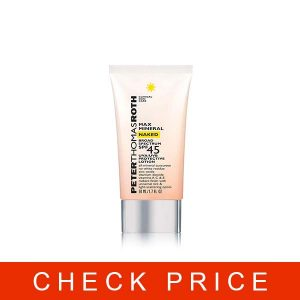Peter Thomas Roth Max Mineral Naked Broad Spectrum SPF 45 UVA/UVB Protective Lotion