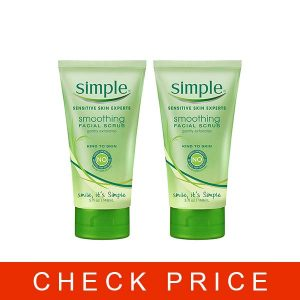 Simple Kind to Skin Facial Scrub, Smoothing, 5 Fl Oz